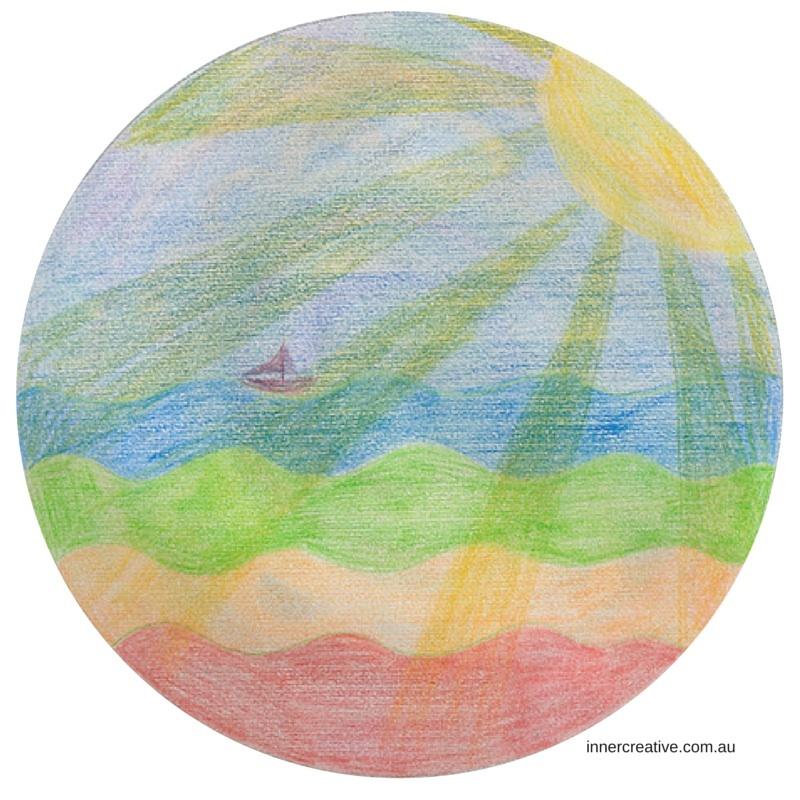 Inner Creative Mandala Inspiration. Move to Joy Mandala. innercreative.com.au