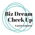 Biz Dream Check Up quick snapshot - work with Inner Creative innercreative.com.au