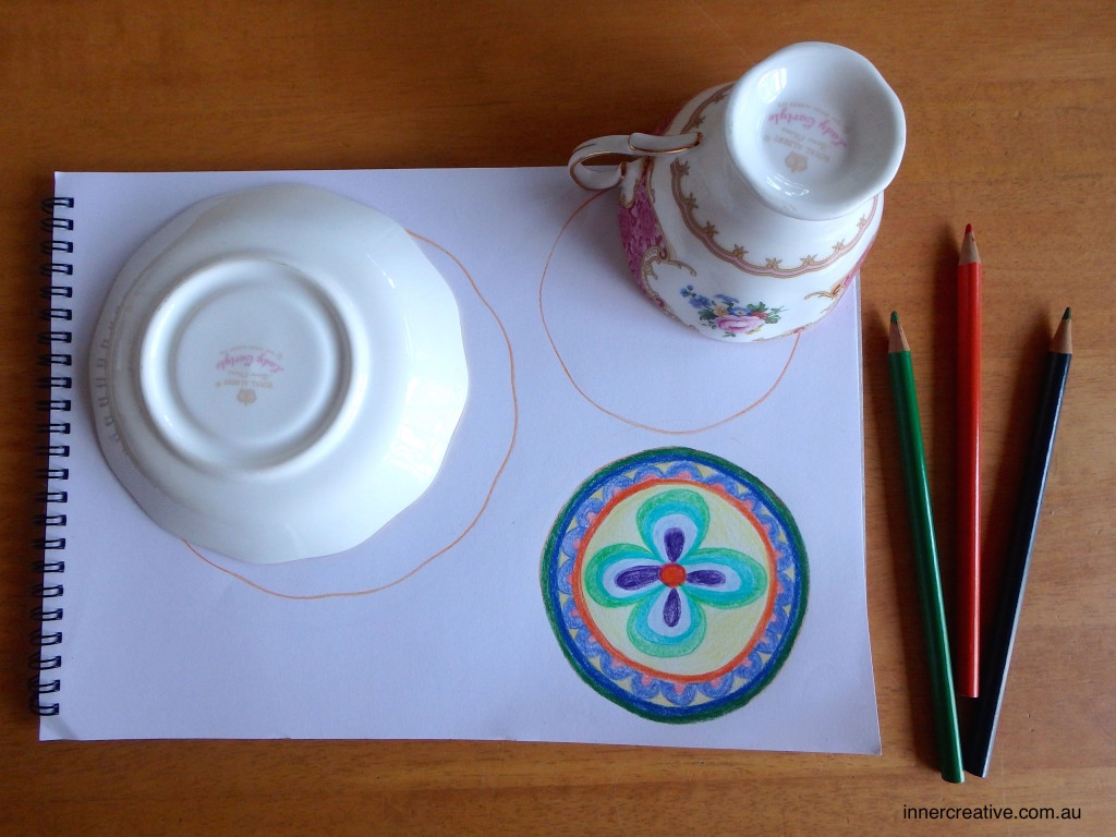 Inner Creative Mandala featured in Inner Creative blog on Making Time for Creativity innercreative.com.au