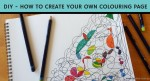 Create your own DIY colouring in page for mindfulness and as a way to unwind and de-stress. Click to read the blog by Inner Creative. innercreative.com.au
