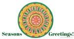 Inner Creative Seasons Greetings - Christmas Mandala 2015 www.innercreative.com.au