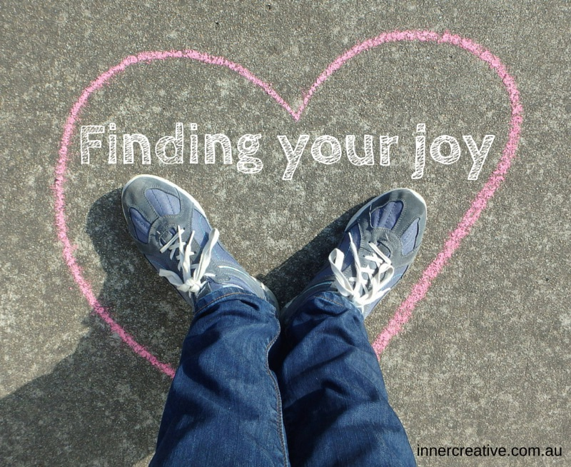 Inner Creative Blog - Finding your joy - innercreative.com.au