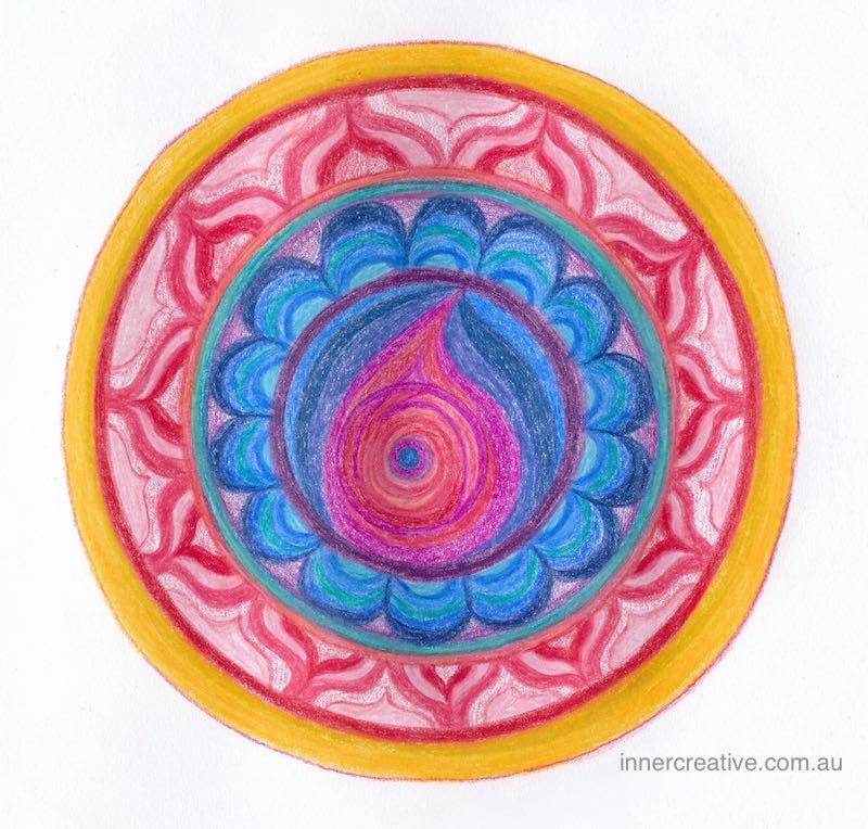 Inner Creative Mandala Inspiration - Kindness - innercreative.com.au