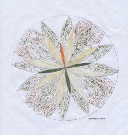 Inner Creative Mandala Inspiration - ANZAC Day Tribute - innercreative.com.au