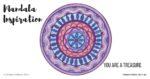 Inner Creative Mandala Inspiration - You are a treasure - innercreative.com.au