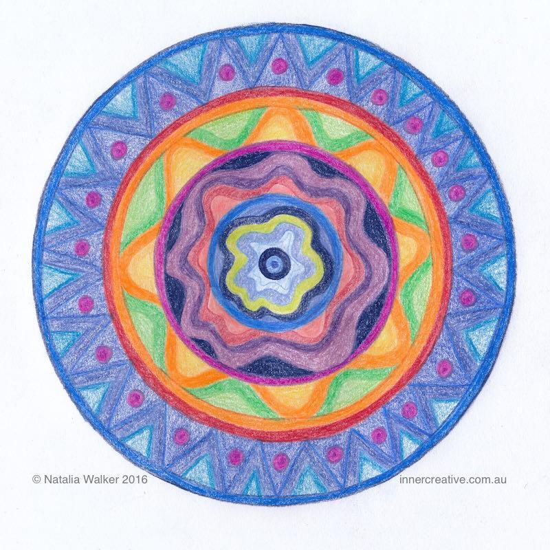 Inner Creative Mandala Inspiration - Place of Safety - innercreative.com.au