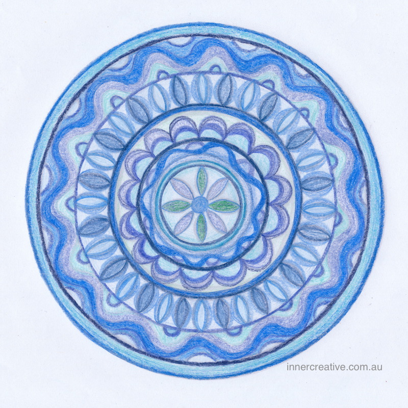 Inner Creative Mandala Inspiration - You are a treasure. innercreative.com.au