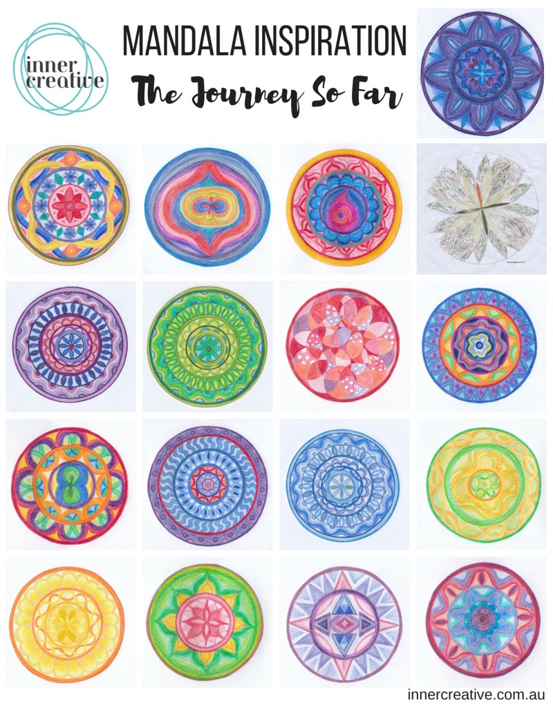Mandala Inspiration featured in Inner Creative Blog -Dealing with uncertainty. innercreative.com.au