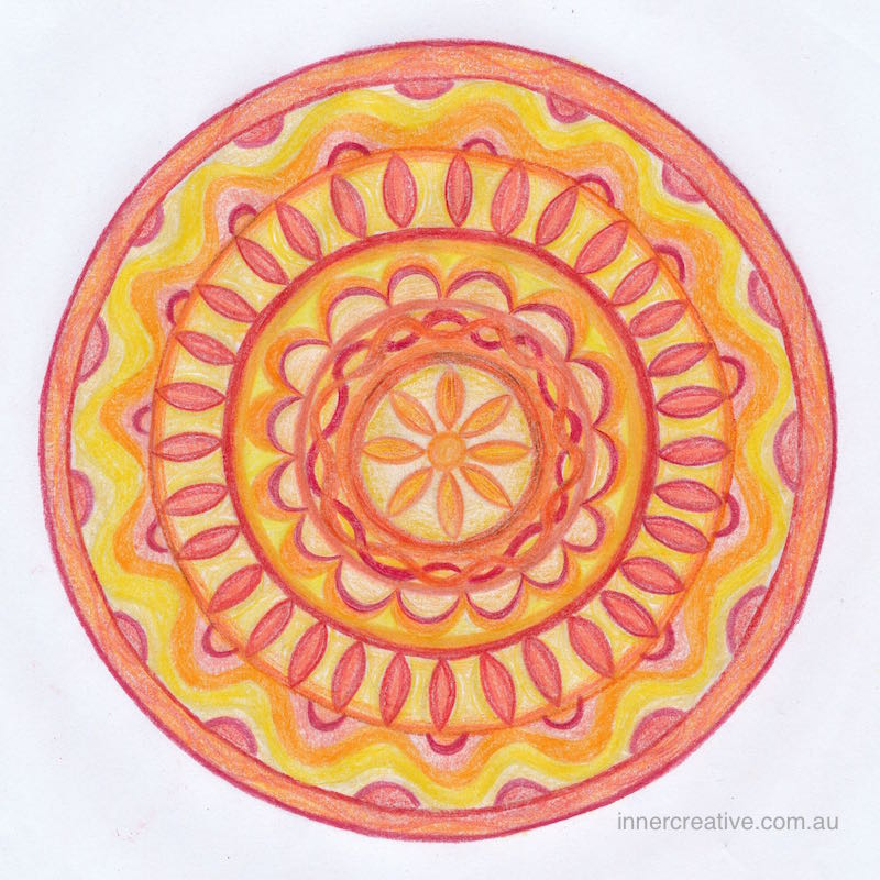 Inner Creative Mandala Inspiration - You are a treasure. Click to get a copy of the colouring page. innercreative.com.au