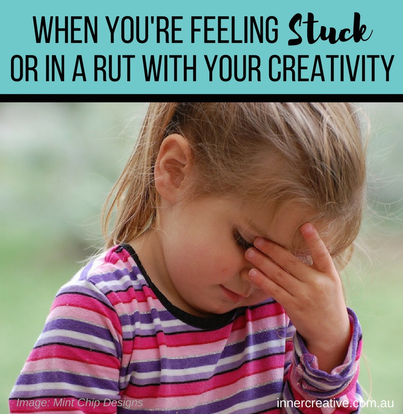 Inner Creative Blog - When you're feeling stuck or in a rut with your creativity. innercreative.com.au