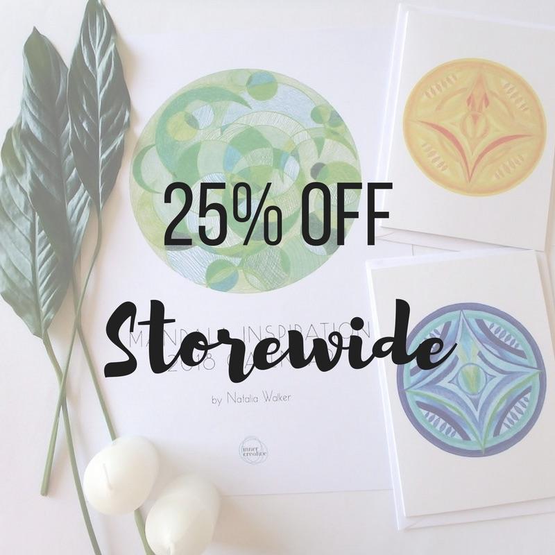25% Storewide Sale