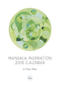Inner Creative 2018 Inspiration Mandala Calendar Cover - innercreative.com.au