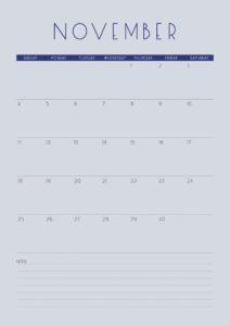 Inner Creative 2018 Inspiration Mandala Calendar November - innercreative.com.au