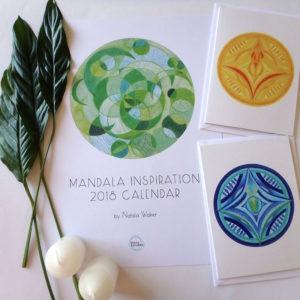 Inner Creative Mandala Cards and 2018 Calendar - innercreative.com.au