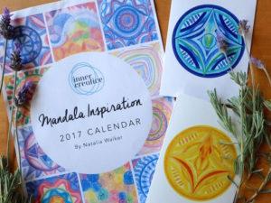 Inner Creative Mandala Cards and Calendar - innercreative.com.au