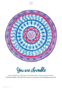 Inner Creative Mandala Inspiration 2017 Calendar - innercreative.com.au