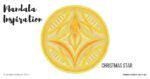 Inner Creative Christmas Star Mandala - innercreative.com.au